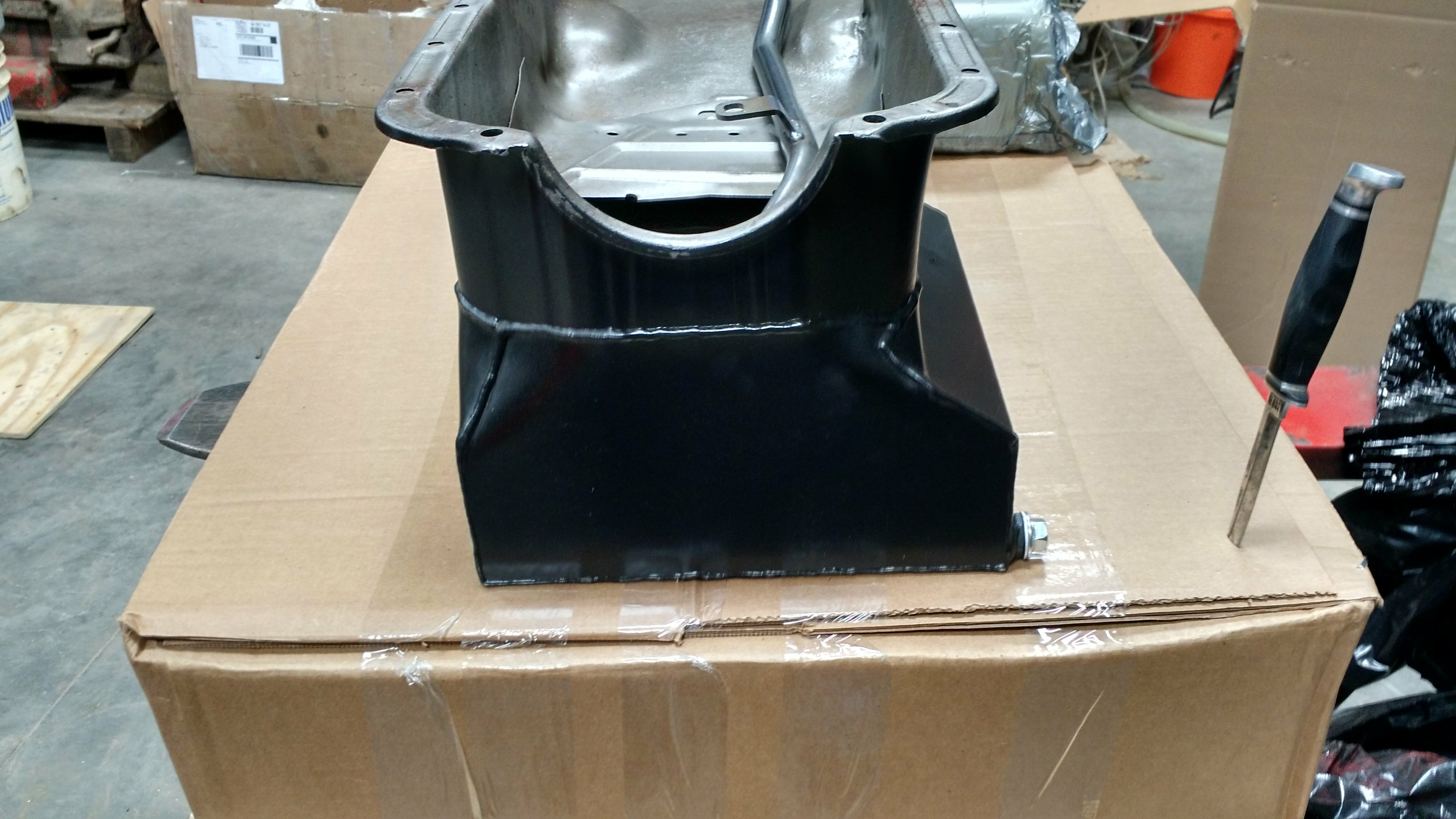 Performance Oil Pan Chevy 230 250 292
